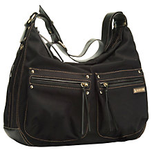 Buy Storsak Emily Changing Bag, Black Online at johnlewis.com