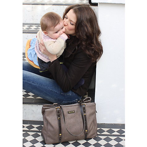 Buy Storksak Gigi Changing Bag, Glimmer Online at johnlewis.com