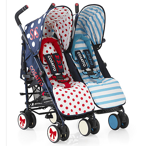 Buy Cosatto Supa Dupa Twin Pushchair, Sis and Bro Online at johnlewis.com