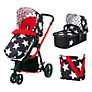 Cosatto Giggle 3 in 1 Combi Pushchair, All Star