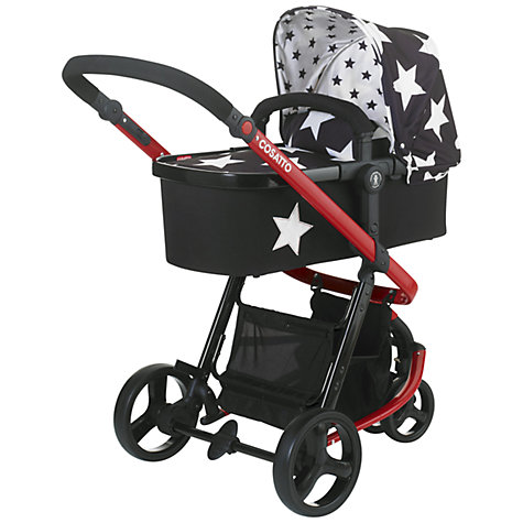 Buy Cosatto Giggle 3 in 1 Combi Pushchair, All Star Online at johnlewis.com