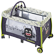 Buy Cosatto Moon Unit Travel Cot/Playpen/Changer, Little Monster Online at johnlewis.com