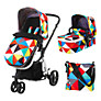 Cosatto Giggle 3 in 1 Combi Pushchair, Pablo