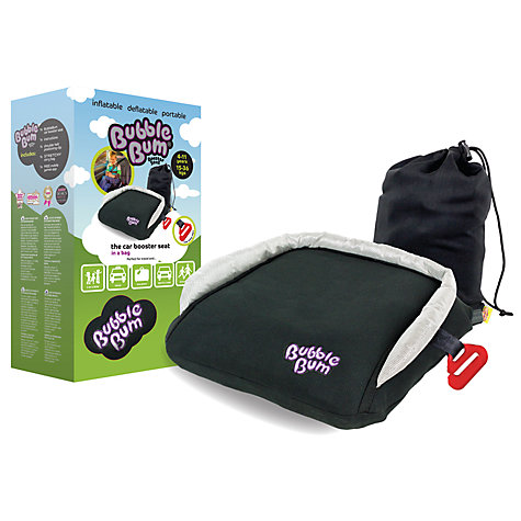 Buy Bubblebum Car Booster Seat, Black Online at johnlewis.com