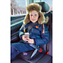 Buy Bubblebum Group 2/3 Car Booster Seat, Black Online at johnlewis.com