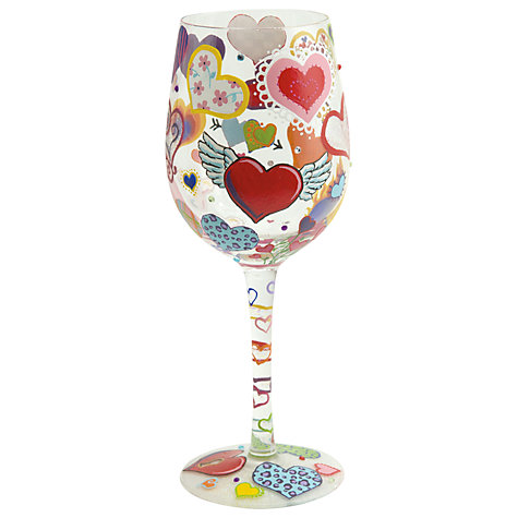 Buy Lolita Heart-Rageous Wine Glass Online at johnlewis.com