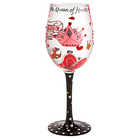 Buy Lolita Queen Of Hearts Wine Glass Online at johnlewis.com