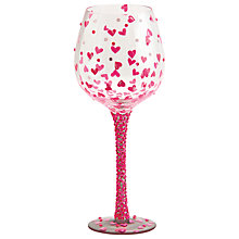 Buy Lolita Pretty Girl Bling Wine Glass Online at johnlewis.com