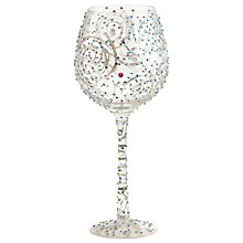 Buy Lolita Bling One In Million Wine Glass Online at johnlewis.com