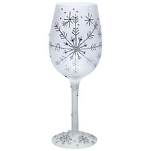 Buy Lolita Christmas Snowflake Wine Glass Online at johnlewis.com