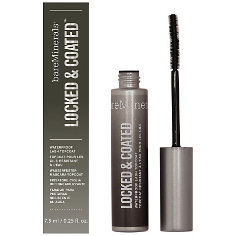 Buy bareMinerals Locked & Coated Waterproof Lash Mascara Topcoat Online at johnlewis.com