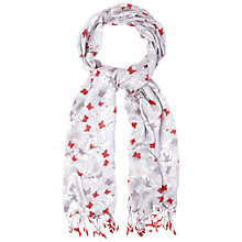 Buy White Stuff Butterfly Blossom Scarf, Multi Online at johnlewis.com