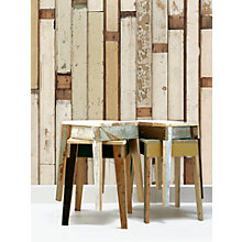 Buy NLXL Scrap Wood Paste the Wall Wallpaper Online at johnlewis.com
