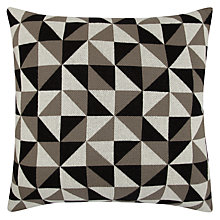 Buy John Lewis Knitted Triangle Cushion Online at johnlewis.com