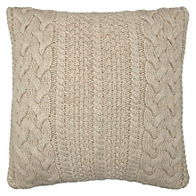 Buy John Lewis Braided Knit Cushion Online at johnlewis.com