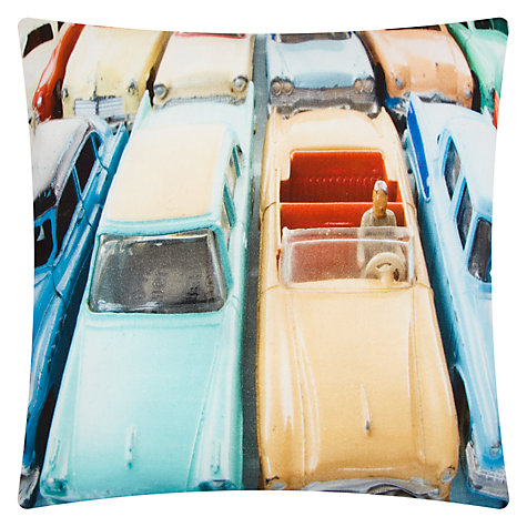 Buy House by John Lewis Vintage Cars Cushion Online at johnlewis.com