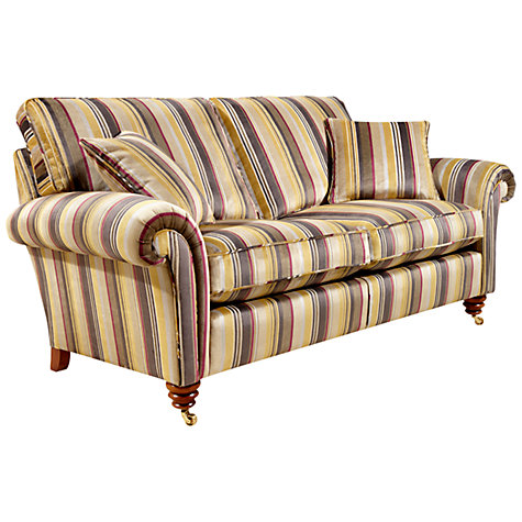 Buy Duresta Belvedere Medium Sofa, Swarbrick Stripe Gold Online at johnlewis.com