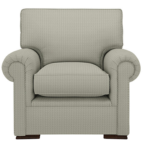 Buy John Lewis Romsey Armchair, Evora Blue Grey Online at johnlewis.com