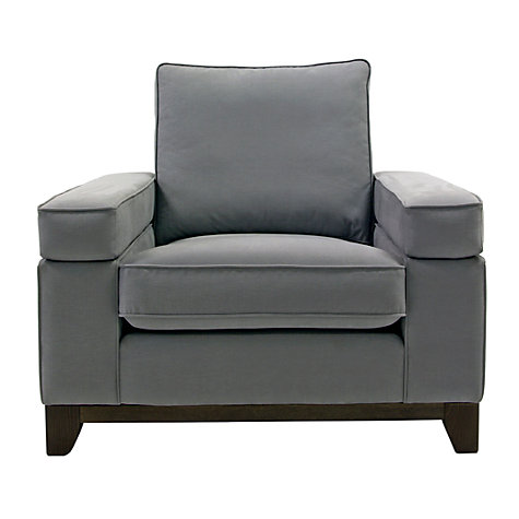 Buy John Lewis Addington Armchair, Odney Steel Online at johnlewis.com