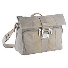 Buy National Geographic Private Collection NG P2120 Midi Messenger Bag, Khaki Online at johnlewis.com