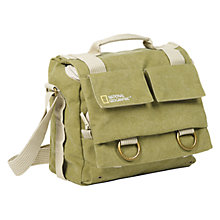 Buy National Geographic Earth Explorer NG 2346 Midi Messenger Bag, Green Online at johnlewis.com