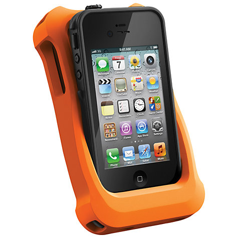 Buy LifeProof iPhone 4 & 4S LifeJacket for use with LifeProof frē Case, Orange Online at johnlewis.com