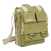 Buy National Geographic Earth Explorer NG 2300 Slim Shoulder Bag, Green Online at johnlewis.com