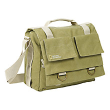 Buy National Geographic Earth Explorer NG 2476 Medium Messenger Bag, Green Online at johnlewis.com