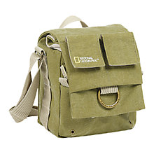 Buy National Geographic Earth Explorer NG 2344 Small Shoulder Bag, Green Online at johnlewis.com