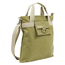 Buy National Geographic Earth Explorer NG 8110 Tote Bag, Green Online at johnlewis.com