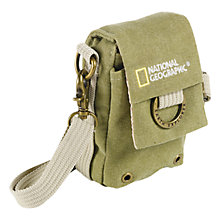 Buy National Geographic Earth Explorer NG 1146 Nano Camera Pouch, Green Online at johnlewis.com