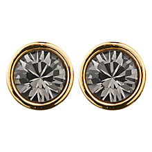 Buy Dyrberg/Kern Noble Grey Swarovski Crystal Stud Earrings Online at johnlewis.com