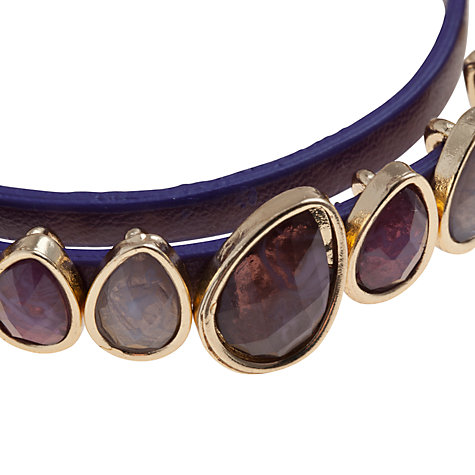 Buy John Lewis Teardrop Stone Wrap Bracelet Online at johnlewis.com