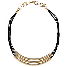 Buy John Lewis Triple Tube Necklace Online at johnlewis.com