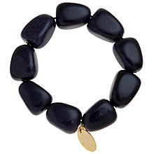 Buy Lola Rose Oscy Chunky Bead Bracelet, Blue Sandstone Online at johnlewis.com