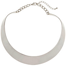 Buy John Lewis Steel Polished Torc Necklace, Silver Online at johnlewis.com