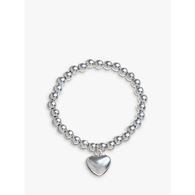 John Lewis Georgie Bead Heart Bracelet