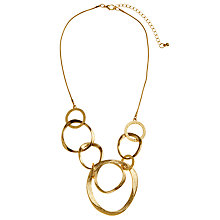 Buy John Lewis Organic Rings Necklace Online at johnlewis.com