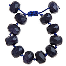 Buy Lola Rose Kaya Faceted Bead Bracelet, Blue Sandstone Online at johnlewis.com