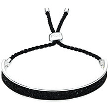 Buy Kit Heath Sterling Silver Glitter Crystal Adjustable Bracelet Online at johnlewis.com