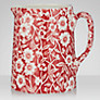 Burleigh Calico Jug, 0.16L, Red