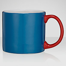 Buy Jansen+co Mug, Blue/ Red Online at johnlewis.com