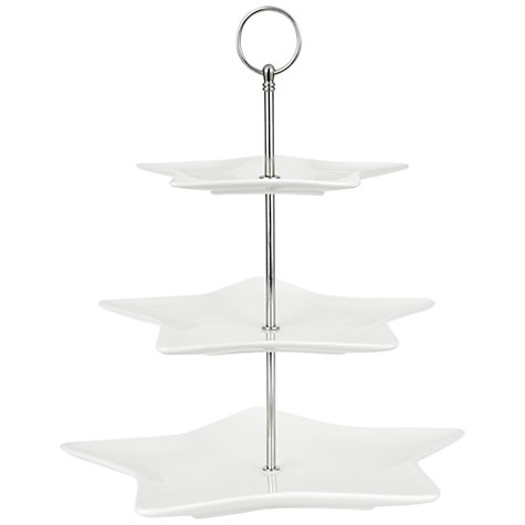 Buy House by John Lewis Three Tier Cake Stand Online at johnlewis.com