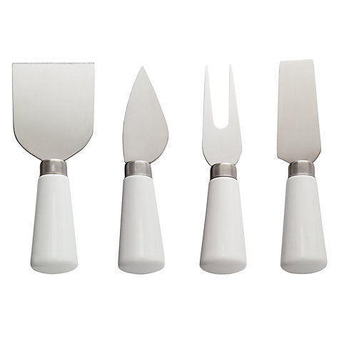 Buy John Lewis Savour Cheese Knives, Set of 4 Online at johnlewis.com