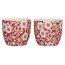 Buy Burleigh Calico Egg Cup, Red Online at johnlewis.com