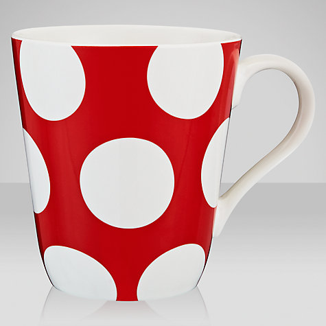 Buy Cath Kidston Big Spot Stanley Mug Online at johnlewis.com