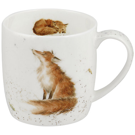 Buy Royal Worcester Wrendale The Artful Poacher Mug Online at johnlewis.com