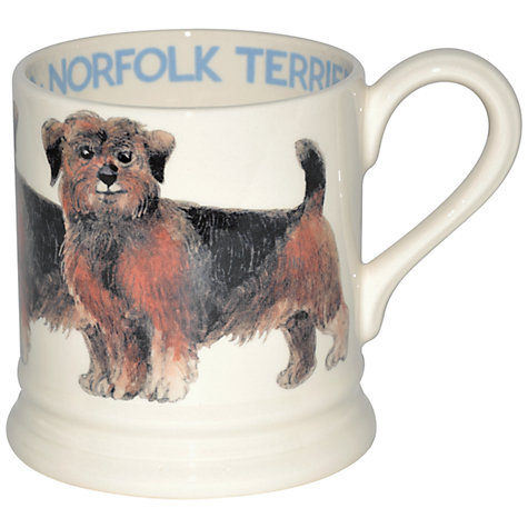 Buy Emma Bridgewater Norfolk Terrier Mug Online at johnlewis.com