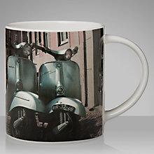 Buy House by John Lewis Twin Vespas Mug Online at johnlewis.com