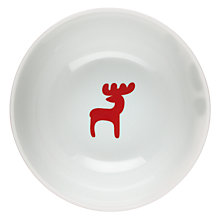 Buy House by John Lewis Woodland Reindeer Bowl Online at johnlewis.com